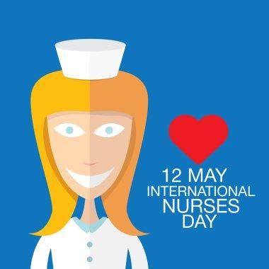 International nurse day concept with nurse