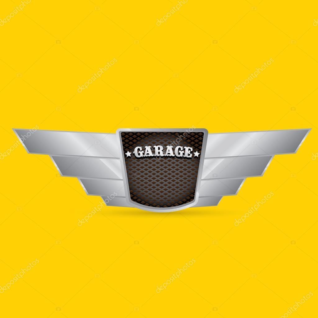 Vector Metallic Automotive Motorcycle Badge Stock Vector C Zm1ter