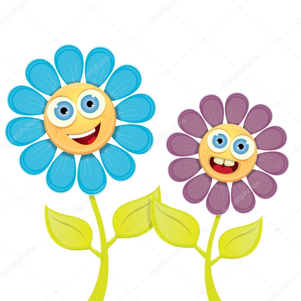 Imagenes Dibujo De Primavera Flores De Dibujos Animados De