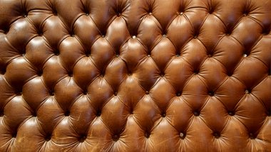 big brown leather couch texture