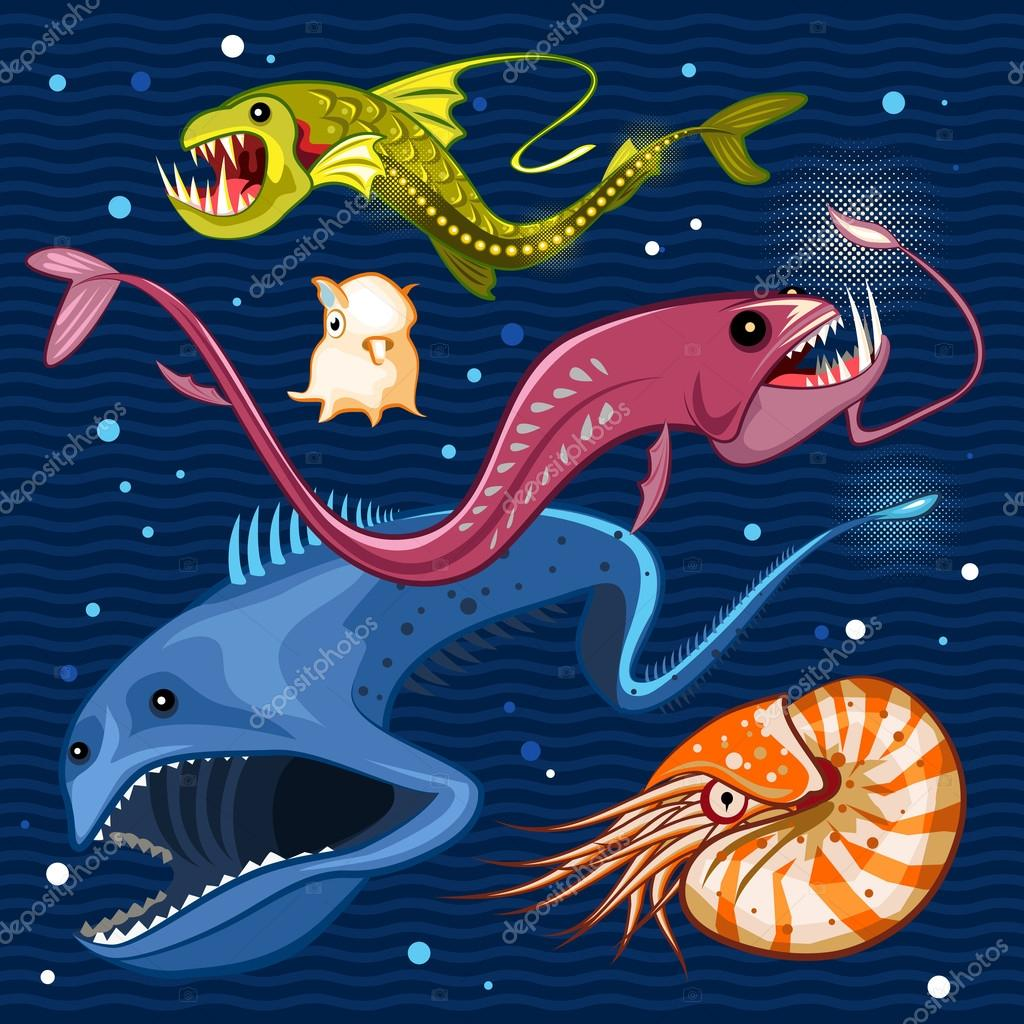Fish Of The Deep Blue Sea Collection Set 02