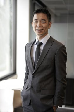 Successful asian chinese corporate person