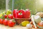 čerstvá zelenina - zdravé potraviny