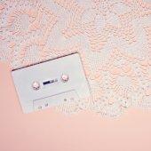 Vintage kazetový. Minimalistické umění