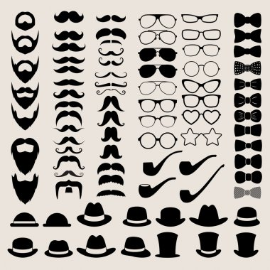Hipster style infographics elements and icons