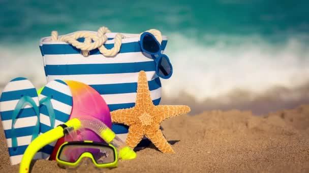 nyári vakáció koncepció