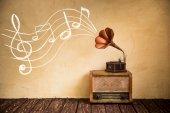 Vintage Rádió és gramofon