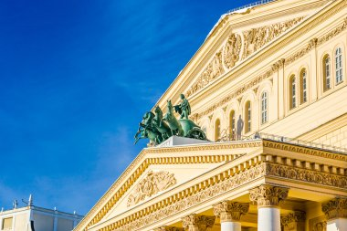 Appolo chariot of Moscow Bolshoi theater