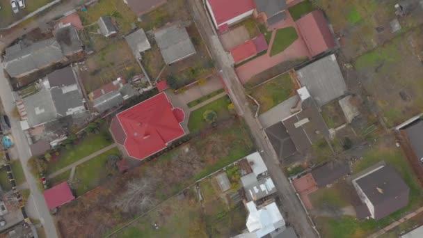 Autumn Suburb Houses