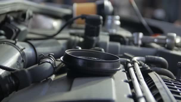 Car Engine Steam