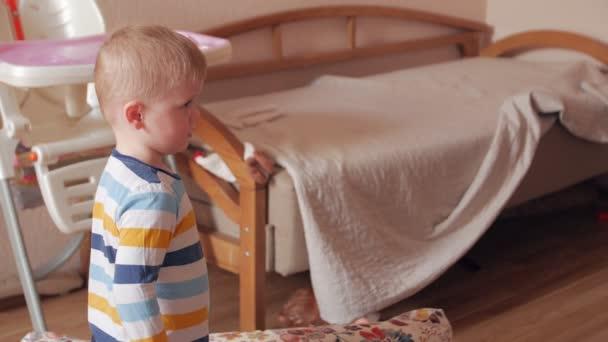 Boy Staring At TV