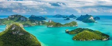islands in Ang Thong National  Park.