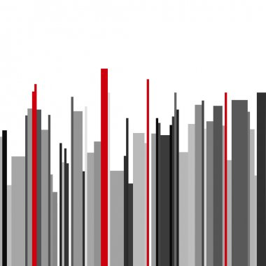 Abstract vertical infographics