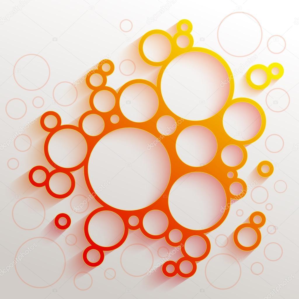 orange gradient circles — Stock Vector © Mikado767 #88903168
