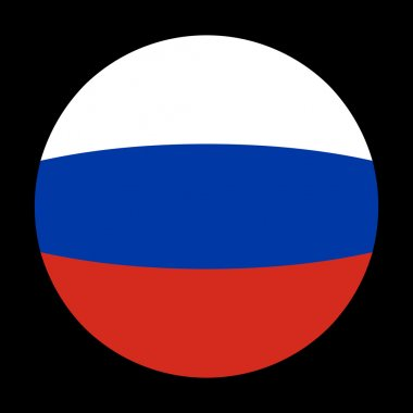 Russian flag sphere