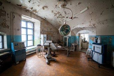 Abandoned hospital in prison, Patarei, Tallinn, Estonia
