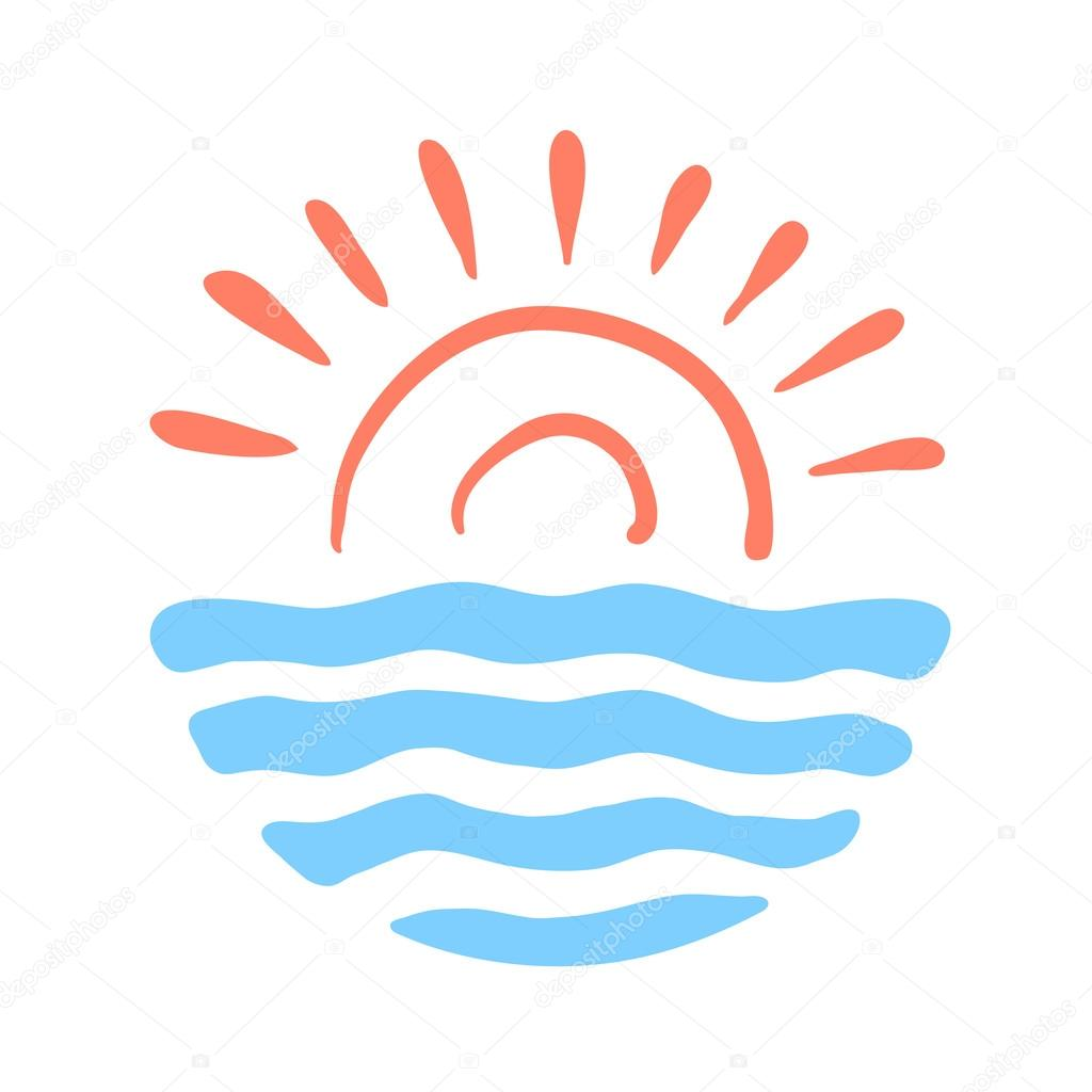 sun and sea vector logo illustration for the travel company rh depositphotos com seavictory vessel seavictory