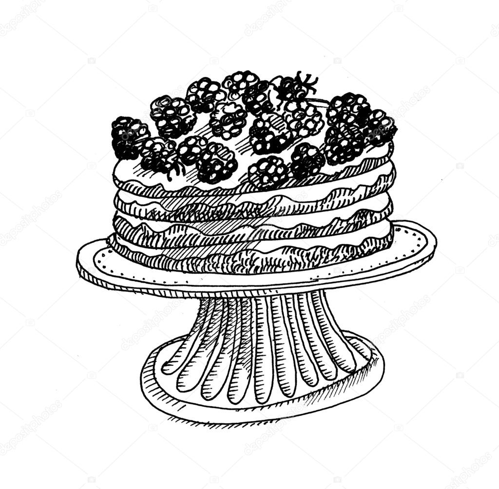 St Cakes Black And White