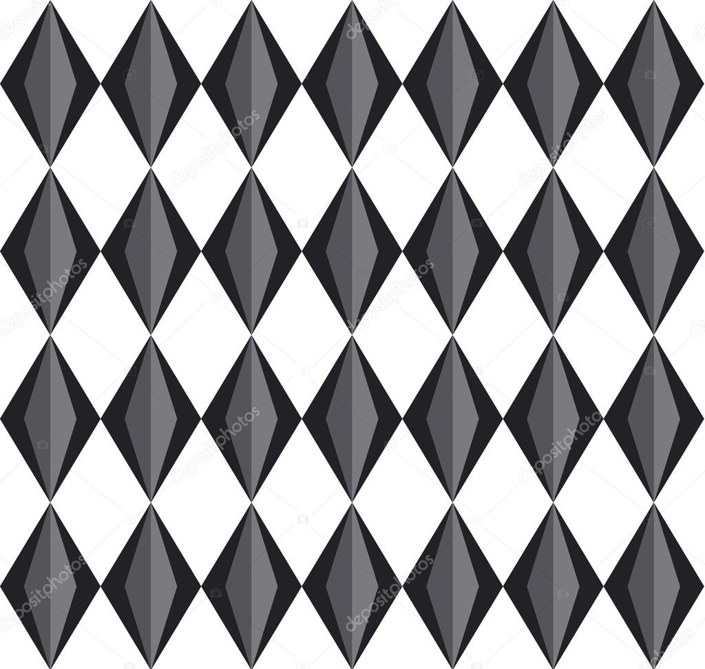 Motif Geometri 3d