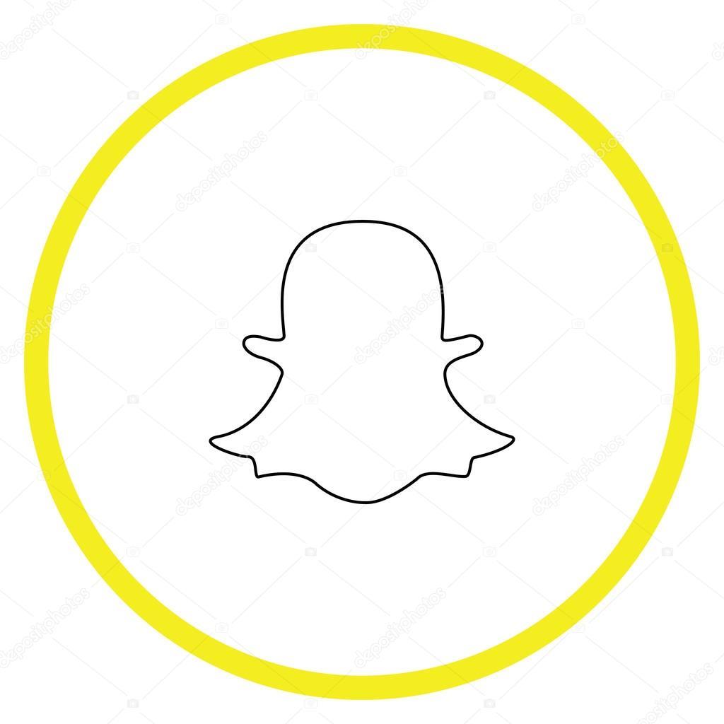 snapchat ghost vector wwwpixsharkcom images