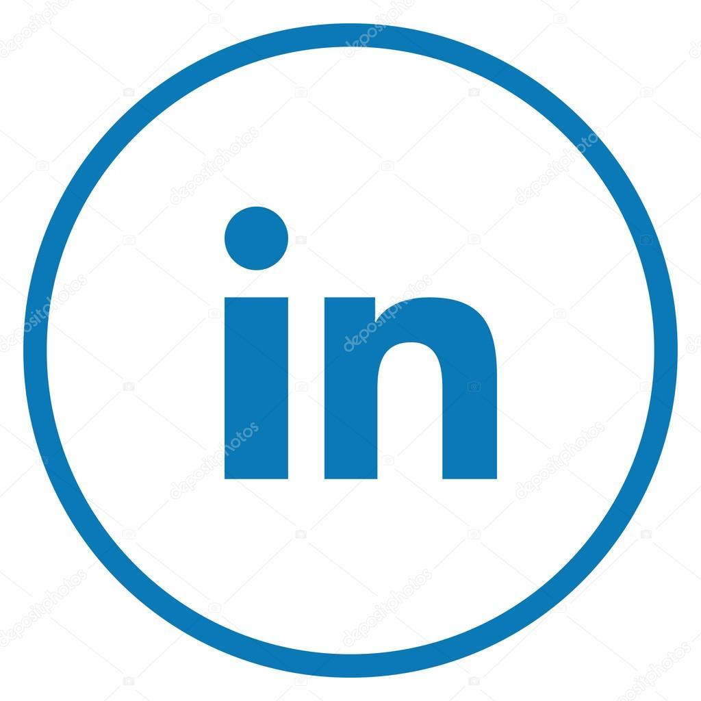 Linkedin Icon Png, Transparent Png - vhv |Linkedin Icon Circle