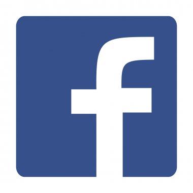 Original Square with Round Corners Blue Facebook Web Icon