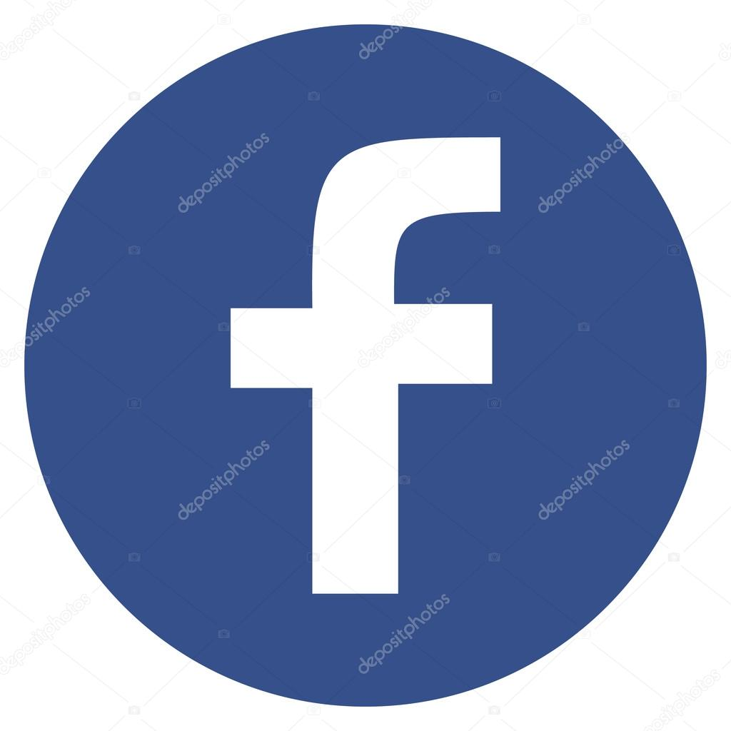 logo facebook rond vectoriel
