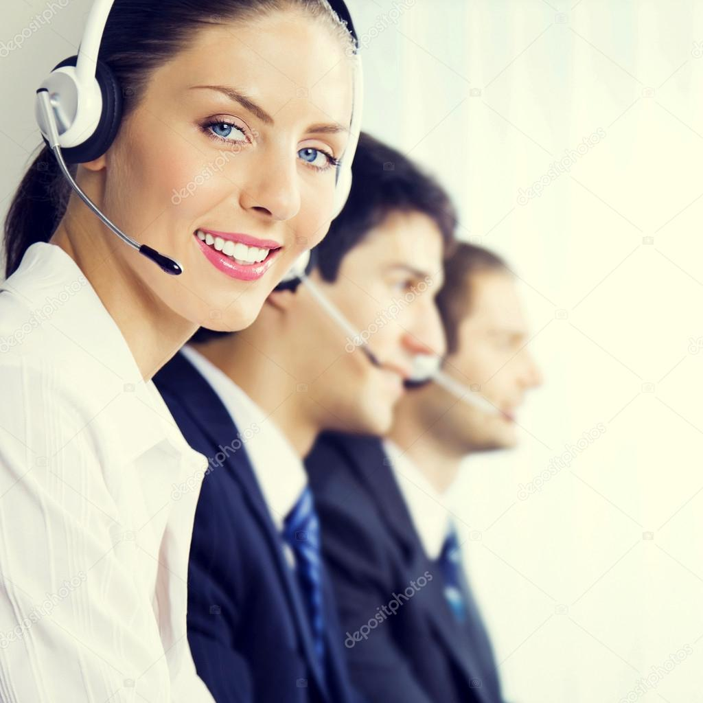 support phone operators at workplace