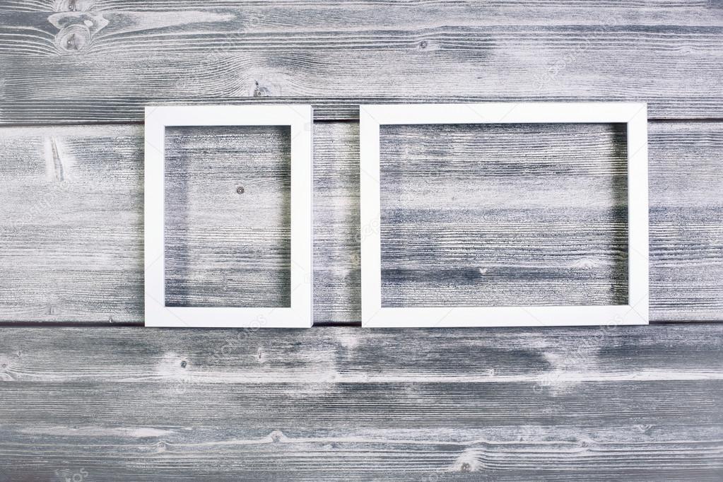 Marcos blancos vacíos — Fotos de Stock © peshkova #105869226