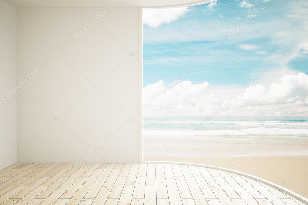 Interior sea view