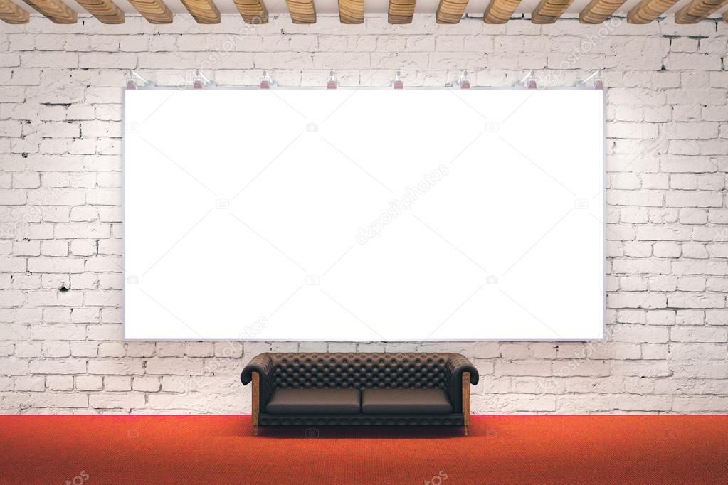 Große Bilderrahmen im Zimmer — Stockfoto © peshkova #108203644