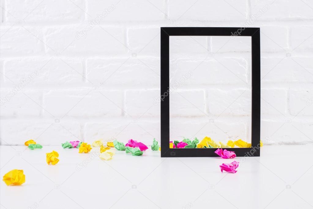 Emnpty see-through frame — Stock Photo © peshkova #117723756