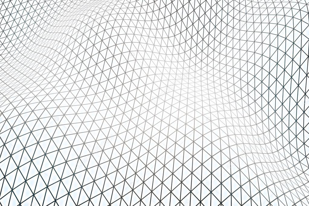White Grid Wallpaper Stock Photo