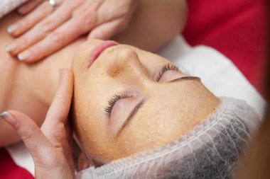 Receiving a cleansing therapy