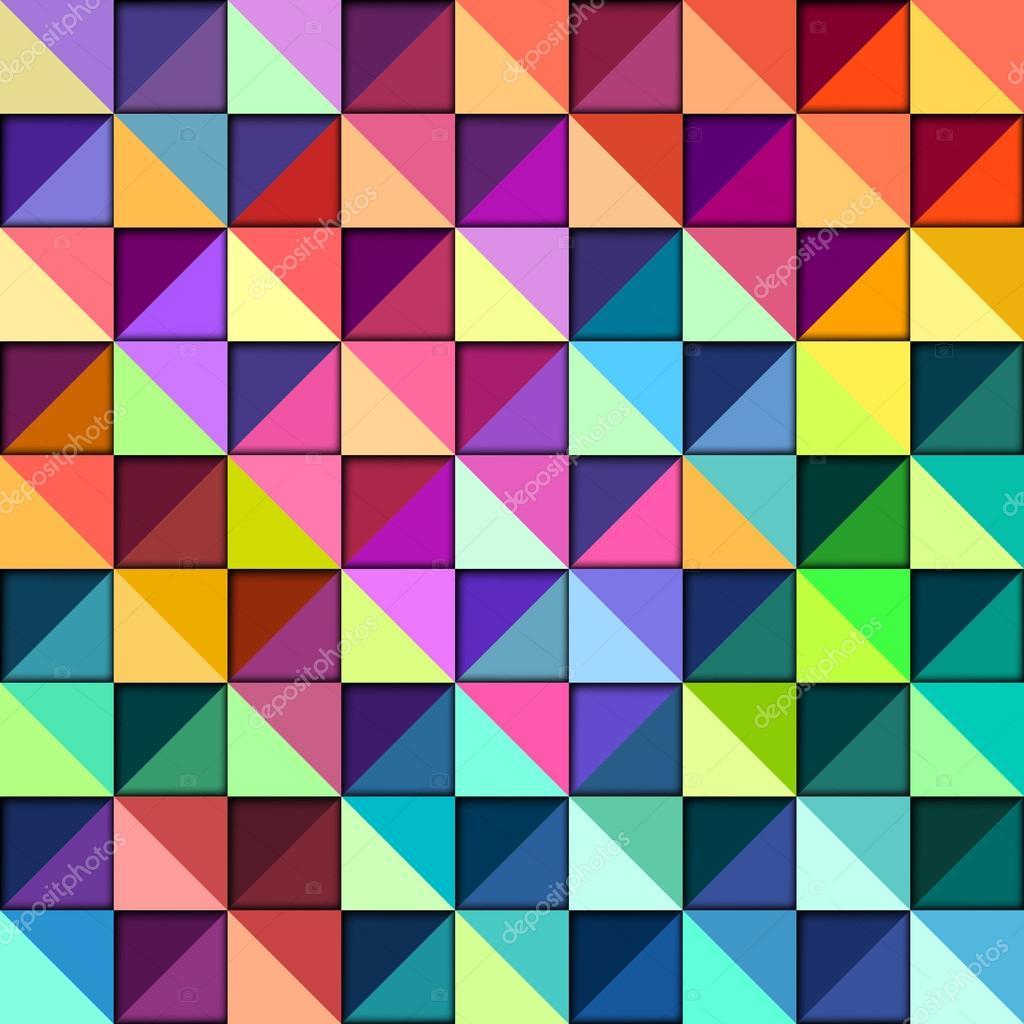 2c9417dfcec2d5 Motif géométrique coloré, vecteur eps10 illustration — Vecteur par oliopi