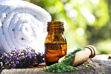 natural medicine concept