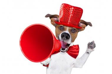 dog sale megaphone