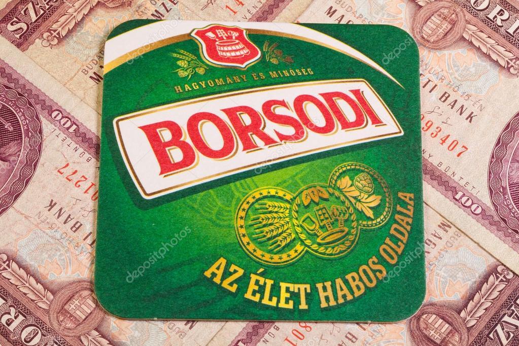 Borsod Brewery Mail: Borsodi Beermat Och Gamla Ungerska Pengar