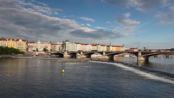 Pohled na historické části Prahy