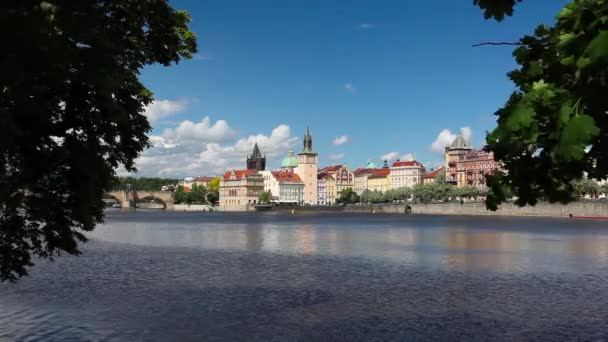 View from Strelecky island on Charles Bridge