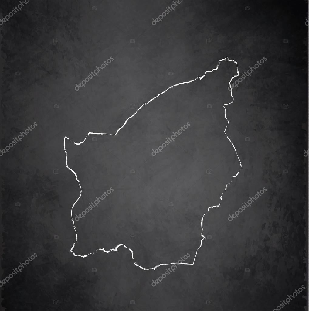 San Marino Map Blackboard Chalkboard Raster Stock Photo Mondi - San marino map download