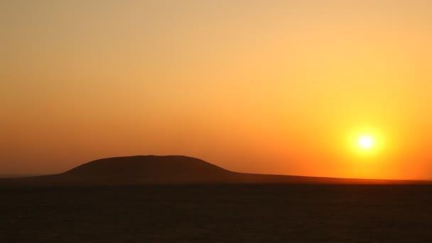 Západ slunce v poušti Rajasthan Indie
