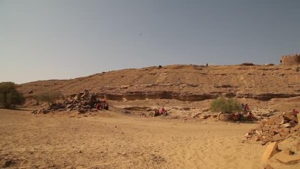 Kuldhara opustil vesnici Rajasthan Indie