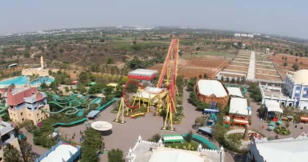 Wonderla zábavní park Hyderabad Indie 3. prosince 2021