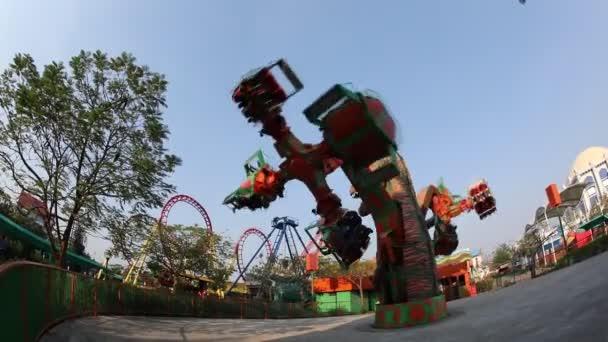 Wonderla zábavní park Hyderabad Indie 3. března 2021