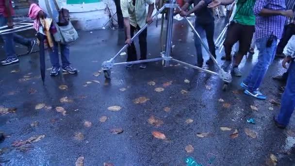 Indický filmový štáb v práci