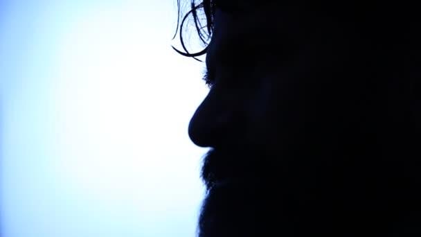 Silhouette of Light  man