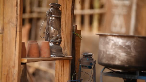 a ház régi petróleumlámpa