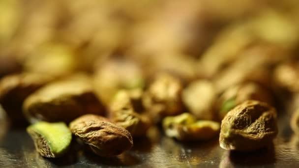 Suché plody pečené pistácie