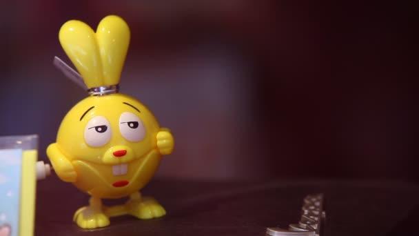 Closeup hračky v obchodě